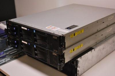 Ils sont des notres, 3 serveurs IBM pas comme les votres
