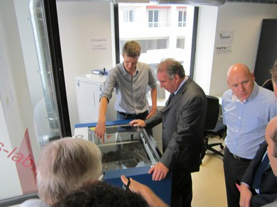 François Bayrou inaugure le MIPS