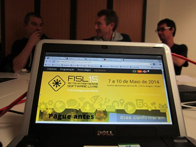 Annonce du FISL15 à Porto Alegre