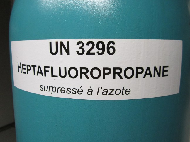 Heptafluoropropane