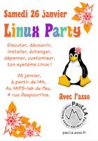PauLLA organise une Linux Party au MIPS (Pau)